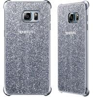 Custodia GLITTER COVER Argento originale Samsung per Galaxy S6 Edge+ Plus G928F