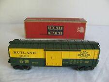 Vintage Lionel Trains O/O-27 Scale Rutland Gateway Box Car #6464-300 VG