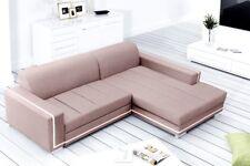 Ecksofa mit Schlaffunktion und Bettkasten Eckcouch Polstersofa Couch Martes 04