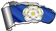 GRANDE STRAPPATO OPEN SQUARCIO Metallo & Yorkshire ROSA YORK COUNTY BANDIERA