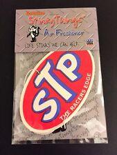 STP CAR AIR FRESHENER * FRESH * nascar racing vintage decal sticker shirt hat