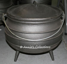 Cast iron Cauldron Potjie pot 9.5 gal Size 14 Reenactment Survival
