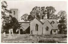 REAL PHOTO POSTCARD OF ST PETERS CHURCH DROITWICH NEAR WORCESTER, WORCESTERSHIRE