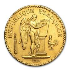 1848-1849 France Gold 20 Francs Angel Avg Circ #PAPPS19660 Lot 20161858