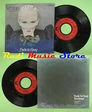 LP 45 7''VISAGE Fade to grey The steps 1980 germany POLYDOR 2095320 no cd mc dvd