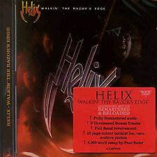 HELIX - WALKIN' THE RAZOR'S EDGE - ROCK CANDY EDITION - REMASTERED CD