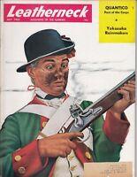 LEATHERNECK  Marine Magazine-JULY,1955-YOKOSUKA RAINMAKERS- Nice /l4
