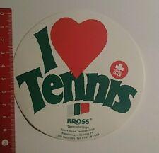 ADESIVI/Sticker: i love tennis Bross tennis rivestimenti (16101675)