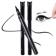 NEW Waterproof Black Eyeliner Liquid Eye Liner Pen Pencil Beauty Makeup Cat Type