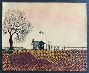 ORIGINAL David DUNN Australian Aboriginal Artist 2006 signed original RARE find