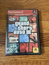 Grand Theft Auto III GTA 3 PS2 (PlayStation 2 Game) CIB Complete W/map