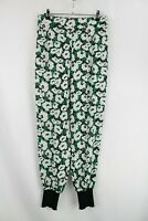 Stella McCartney Green and Black Floral Trousers, EU 42/ UK 14/ US 10