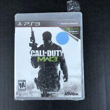 Call Of Duty Modern Warfare 3 Playstation 3 PS3 Bonus DLC Brand New Sealed