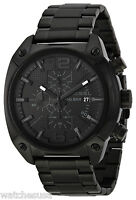 Diesel DZ4223 Advanced Black Dial Black Ion Plated Chronograph Men's Watch