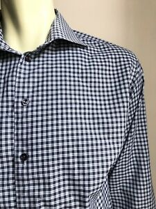 ETON Shirt, Ventnor Plaid, XL (17-1/2, 35), Contemporary Fit, VG+ Cond