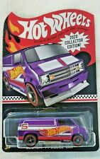 Hot Wheels Custom 77 Dodge Van, 2020 Collector Edition, Mail in, Real Riders