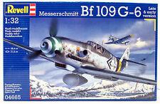 Messerschmitt BF-109 G-6 Revell Germany 1/32 New Plastic Model Kit 04665