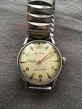 Vintage men's Bulova watch