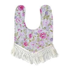 Cotton Baby Newborn Infant Kids Toddler Soft Tassel Waterproof Bibs Saliva Towel