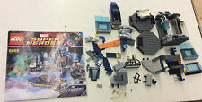 Lego Marvel Avengers 6868 Hulks Helicarrier Breakout Incomplete Set! See Pics!