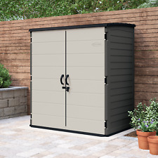 Suncast 6' X 4' Vertical Shed, 106 cu. ft of Storage Capacity