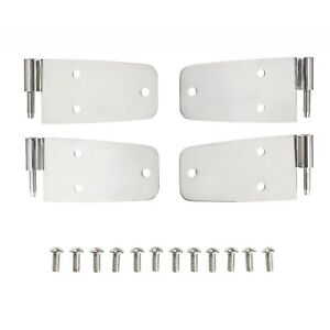 Smittybilt 7420 Door Hinge Fits 76-93 CJ5/CJ7 Scrambler/Wrangler YJ - Set of 4