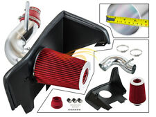 RED Cold Air Intake Kit+Heat Shield+Filter For 2016-2021 Camaro 2.0T Turbo