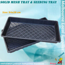 Hydroponic Solid Mesh Tray & Mesh Seeding Tray Same size