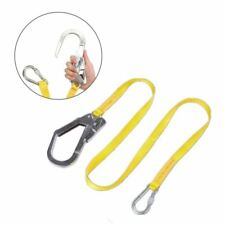 Safety Lanyard, Outdoor Climbing Harness Belt Lanyard Fall Protection Rope Q0W0