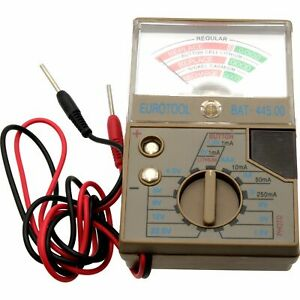 Battery Tester for Watches, Calculator And Camera Batteries