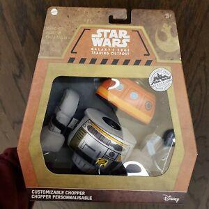 Mattel Star Wars Galaxy's Edge Trading Outpost: Chopper Customizable Droid Plush