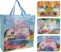 Extra Large Shopping Bag Tote Picnic Bag Holiday Beach Bag Shopper 6 Designs