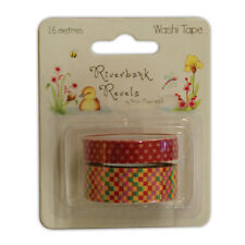 Dovecraft Riverside Retro Washi Tape for cards & crafts (16 mts)