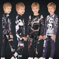 Kids Mma Rashguard Bjj NoGi JiuJitsu no gi Long sleeves kids spats Rash guard
