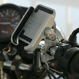 Universal  Aluminum Bike Motorcycle Phone Handlebar Mount Holder For Cell Phone