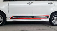 DOOR SIDE MOLDING PROTECT GUARD PAINT WITH CHROME FOR TOYOTA INNOVA 2017 - 2019