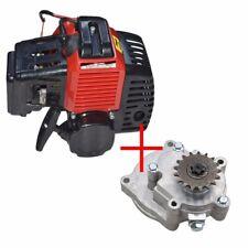 49cc 2 Stroke GAS Chopper Engine Motor Mini Quad ATV Go Kart Buggy+TRANSMISSION