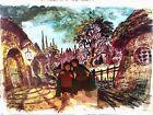 Lord of Rings PRODUCTION cel MASTER background Ralph Bakshi Art Hobbit Tolkien