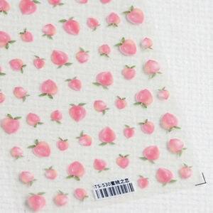 1 Sheet Cloud Bubble Nail Foils 5D Embossed Nails Stickers Women Manicure Decals