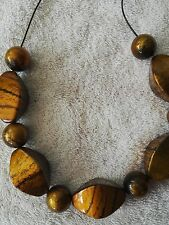 11 Large Gold Pattern Beads Size 36mm & 16mm For Craft and Jewellery