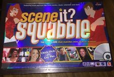 Scene It? Squabble Chick Flicks vs. Guy Pics Adult Party Board Game New Sealed