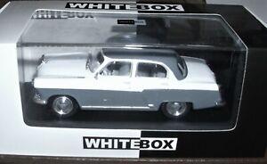 WhiteBox, Wolga M21 weis-grau Bj. 1959, Maßstab 1:43, OVP und Neu.