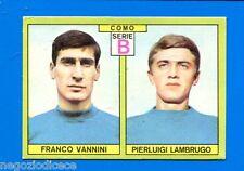 CALCIATORI PANINI 1968-69 - Figurina-Sticker - VANNINI-LAMBRUGO COMO -Rec