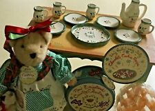 Lot Muffy Vanderbear New England Christmas Table Cookie Cutter Hot Chocolate Set
