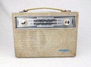 Vintage Transistor Radio c. 1961 Stella ST403T Working Philips British MW LW