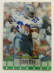 1994 Pinnacle Sportflics Super Bowl EMMITT SMITH #S2B,  Cowboys HOF