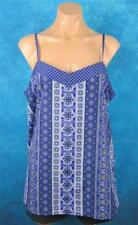 Jeanswest, Size 16 Womans, Sleeveless Blue Summer Blouse.