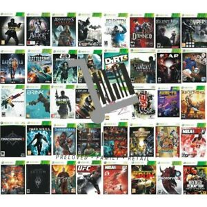 Xbox 360 Xbox360 Games - Pick Your Games - Multi Buy Discounts - PAL - FREE P&P