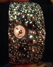 Swarovski Watch. Time Cuff Crystlized Watch. Impossible To Find. Swiss made