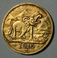 15 Rupien Deutsch-Ostafrika 1916 Elefant Kopie J.728b